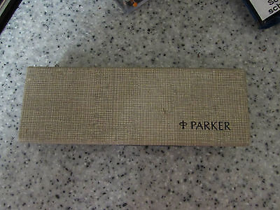 Vintage Parker 45 Fountain Pen Stainless Steel With Box