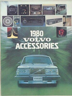 1973 thru 1980 Volvo 240 260 262C 242 245 265 140 260 Accessory Brochure ww1908
