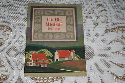 Vintage 1947 - 48 ENO ALMANAC info for family & home advertising booklet