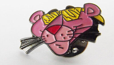 PINK PANTHER head eyes closed metal pin mint licensed 1993 cool item must L@@K