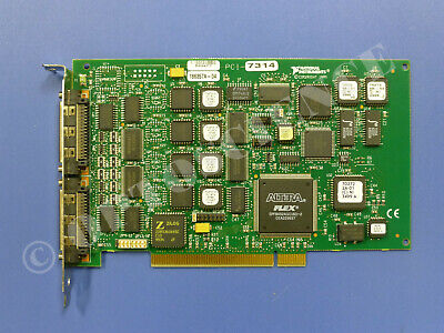 National Instruments PCI-7314 Motion Controller Card, 4-Axis, Stepper Motor