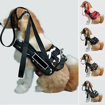 Adjustable  Heavy Duty Dog Pet Puppy Harness Padded Extra Big Large Strap Vest