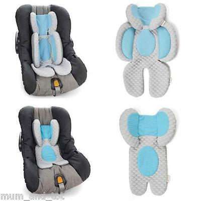 Munchkin Stroller Car Seat Cushion Buggy Head Body Support Liner Pram Pushchair