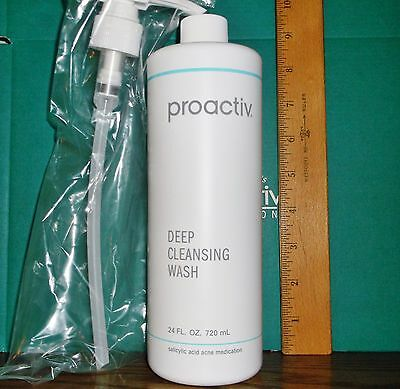 PROACTIV Deep Cleansing Wash 24 oz Body Wash Face Cleanser EXP 04/19 SEALED