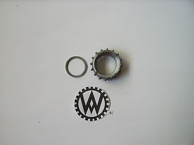 Hercules SACHS 50 and 98 EXHAUST MANIFOLD NUT UNION NUT M35 x 2 NEW