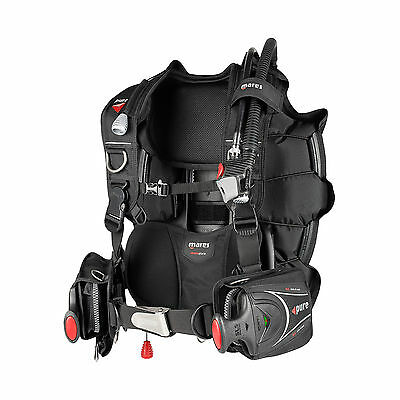 Mares  Pure SLS Dive Scuba Diving Men's BCD Buoyancy Compensator XL 417361