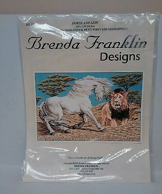 Brenda Franklin designs Horse and Lion