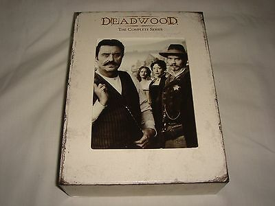 Deadwood - The Complete Series DVD Collection (19-Disc Set) - HBO TV