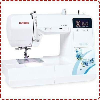 Janome DC3100 Sewing Machine - A Great Sewer for Everyday Use, ON SALE NOW!
