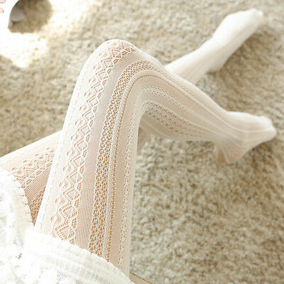 Lady Women Sheer Lace Stay Up Thigh High Hold-ups Stretchy Stockings Pantyhose