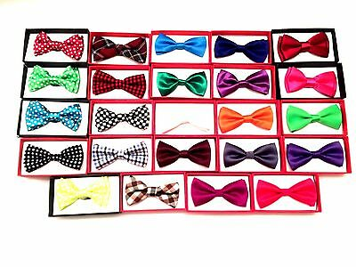 Bow Tie Matching Colors Baby Toddler Kids Boys Girls Child USA Bowtie