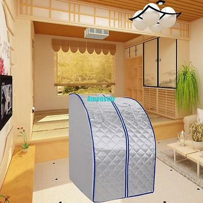 600W Portable Sauna Ultra Far Infrared Tent Room Full Body Detox Lose Weight