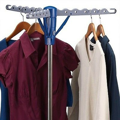 Clothes Airer Dryer Laundry Drying Rack Foldable Indoor Outdoor Garment Hanger
