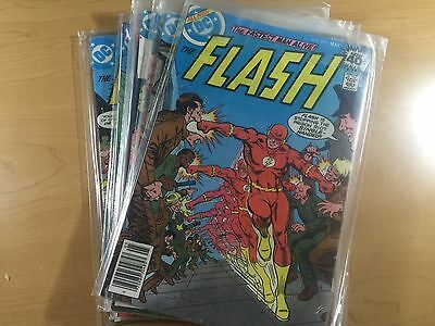 DC Comics THE FLASH (Vol 1) #273-275-288 Complete BRONZE AGE Lot FREE SHIPPING!