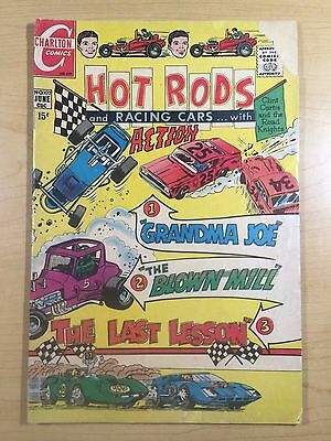 CHARLTON Comics 1970 HOT RODS And RACING CARS...With ACTION #102 Free Shipping!