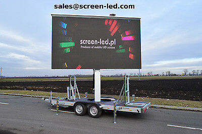 Platform LED Screen | Mobile screen on trailer | LED wall | outdoor | portable