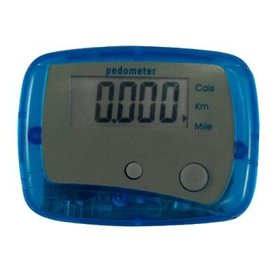 LCD Digital Pocket Pedometer Calorie Counter Step Walk Run Sports Pack of 2