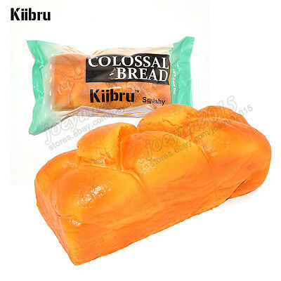 Kiibru English Bread Colossal Squishy Slow Rising Stress Relieve Toy Exclusive