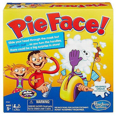 New Pie Face Game Kids Fun Filled Family Game of Suspense BOX Package Gift Toys