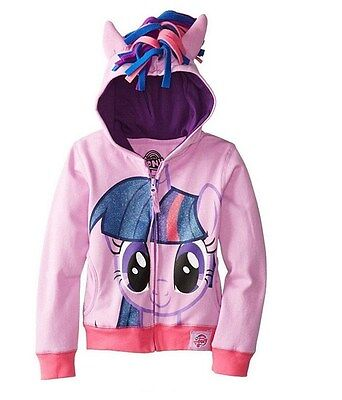 New My Little Pony Hoodie  2,3,4,5,6,7,8 YEARS JACKET Twighlight Sparkle Girls