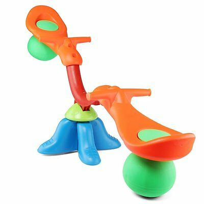 deAO Childs Seesaw Garden Playset With a Swivel Base