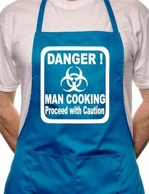 Danger Man Cooking BBQ Cooking Funny Novelty Apron