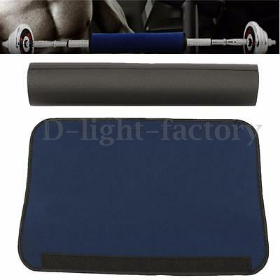 Foam Padded Barbell Bar Cover Mat Pad Weight Lifting Squat Shoulder Back Support