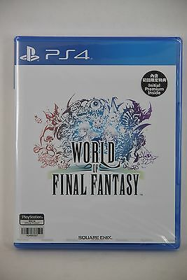 NEW PS4 Pro World of Final Fantasy FFW (HK Chinese Version) + DLC