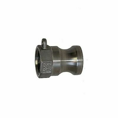 """1/2"""" Type A Camlock 304 Stainless Steel - Male Cam Lock to Female NPT - Snaplock"""