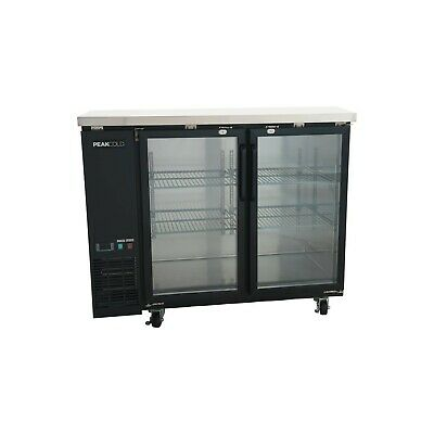UBB-24-48G Glass Back Bar Cooler ( Free Shipping )