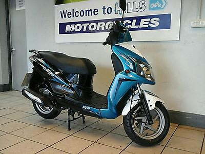 Sym Symply 125 Auto 4 Stroke Learner Scooter 769 Miles Please Read
