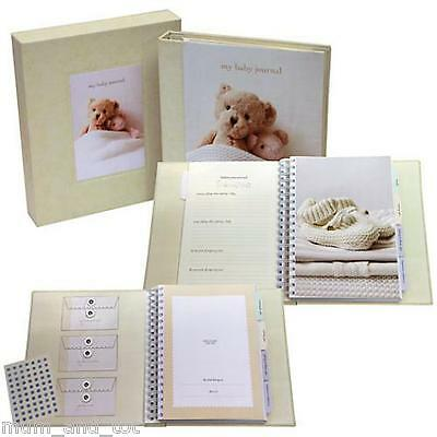 My Baby Journal Deluxe Memory Diary First Year Toddler Child Unisex Keepsake