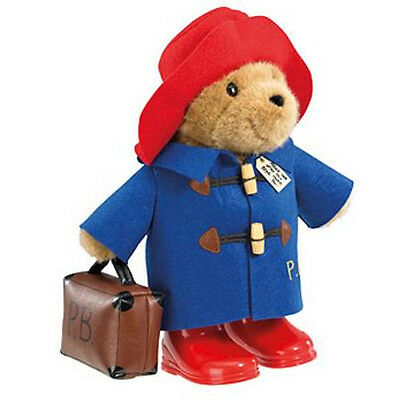 Paddington Bear Soft Toy Boots Suitcase Classic Hat Cuddly Large 36cm