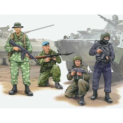 NEW Trumpeter 1/35 Russian Special Op Force Figures (4) 437