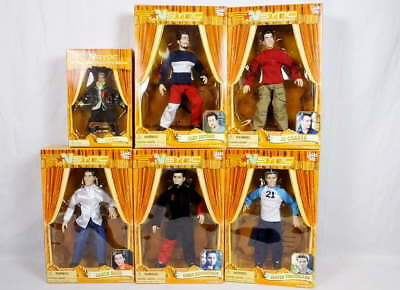 Lot 6 NSync Collectible Marionette Dolls Justin Timberlake Lance Bass++ NEW NRFB