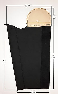 Horse Tail Wrap Neoprene Tail Protector Tail Guard Black
