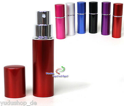 10ML ALUMINIUM perfume sprayer spray bottle PERFUME ATOMIZER PERFUME BOTTLES