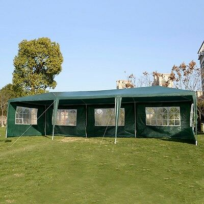 10x30 Party Tent White With Walls