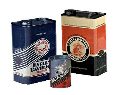 Harley-Davidson® Motorcycles Storage Gas Can Oil Drum Canister Set HDL-18560