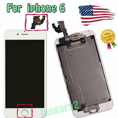 """For 4.7"""" IPhone 6 Full LCD Screen Replacement Digitizer Touch Assembly Display"""