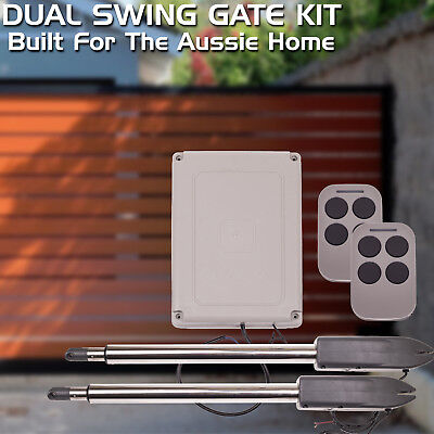Brand New Auto Openers Swing Gate Opener SW400 Dual Kit DIY Suit 400kg Gates