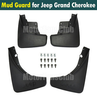 Front+Rear Mud Splash Flap Guard Fender Mudguards For Jeep Grand Cherokee 11-16