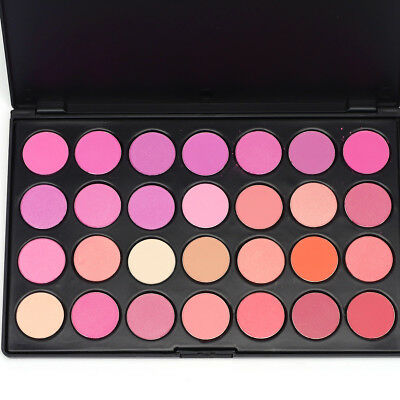 28 Colors Professional Blush Highlight Bronzer Palette