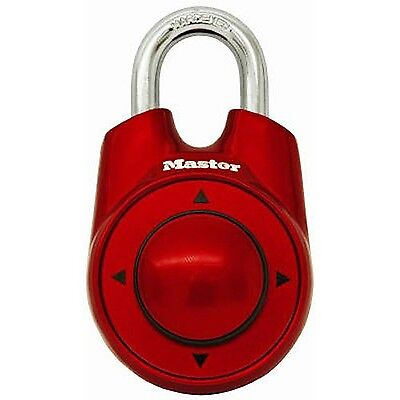 Master Lock 1500iD Speed Dial Combination Lock Assorted Colors 1 [Package 1] NEW