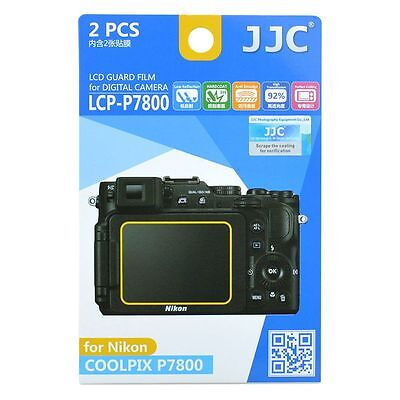 JJC LCP-P7800 LCD Screen Protector Guard Film Cover für Nikon Coolpix P7800