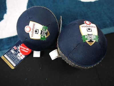 2 X Ashes New Special Soft Cricket Ball Australia Vs England Play Indoors & Out