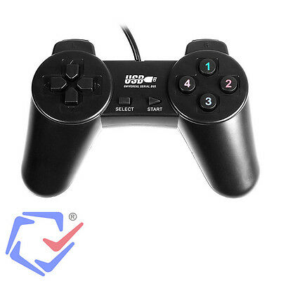 Gamepad Joy Pad Controller für PC Computer Kabel USB Plug&Play Joystick Joypad