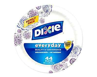 Dixie HD Paper Plates, 10 1/16 Inches, 220 Count (Packaging May Vary) .