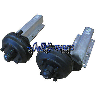 "750kg Avonride braked trailer suspension units 4"" PCD"