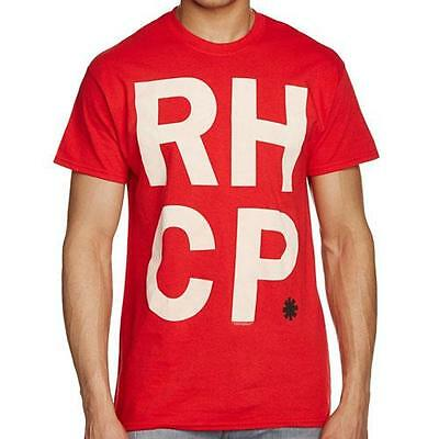 Red Hot Chili Peppers - RHCP Stacked Mens Short Sleeve T-Shirt - New & Official
